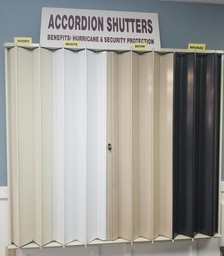 Accordion Shutters Color Options