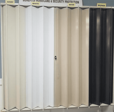Rolldown Hurricane Shutters Colors